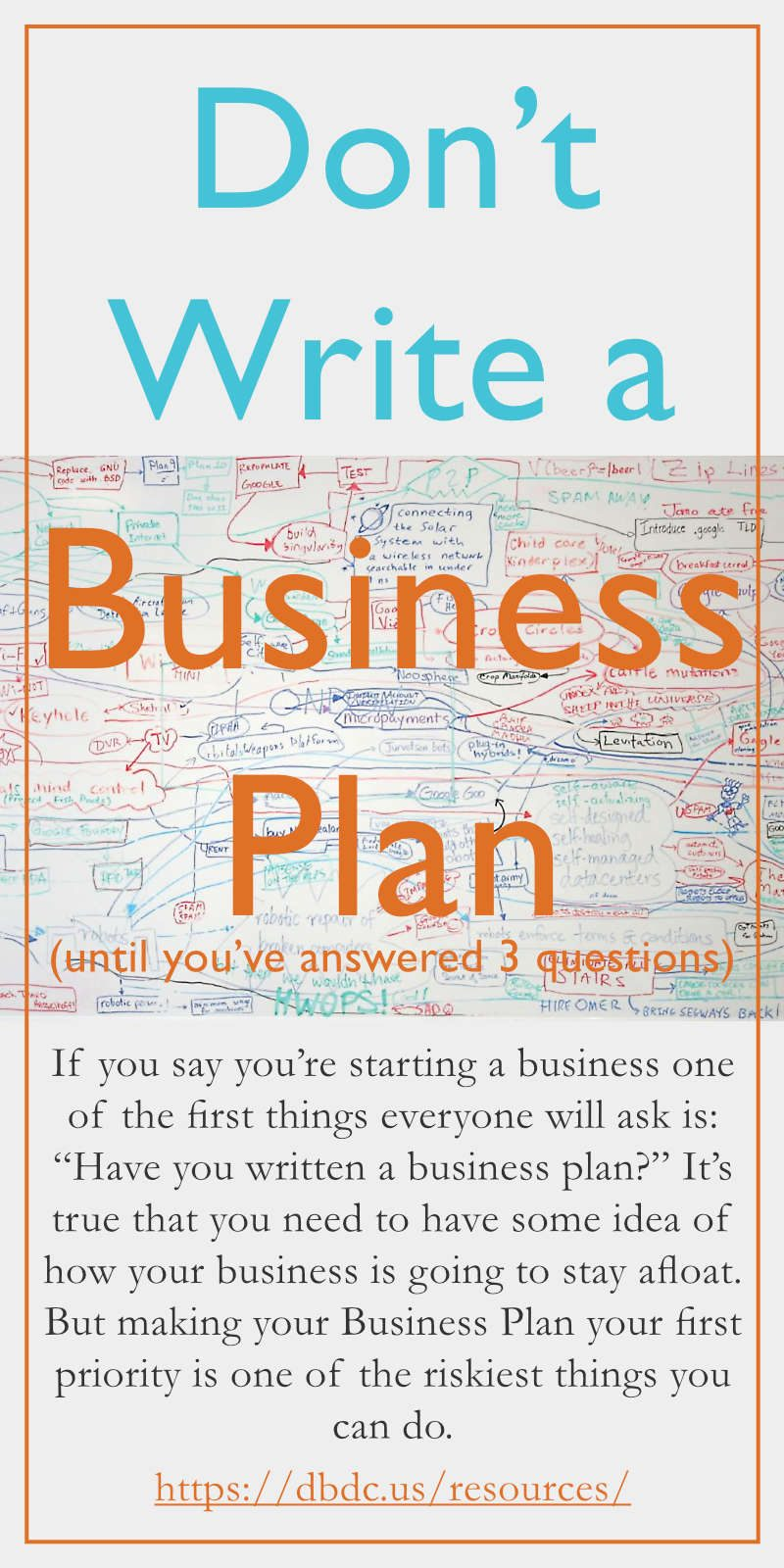 how to write a great business plan Buy how to write a great business plan (harvard business review classics) by  william a sahlman (isbn: 9781422121429) from amazon's book store.