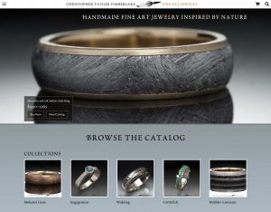 The new Christopher Taylor Timberlake Fine Art Jewelry Home Page