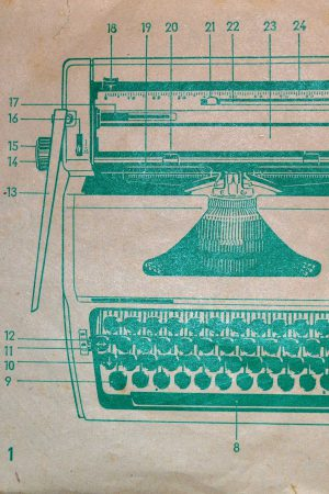 Old Typewriter Manual