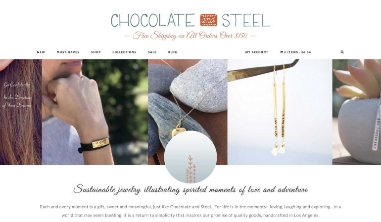 The new Chocolate and Steel site by dbdc